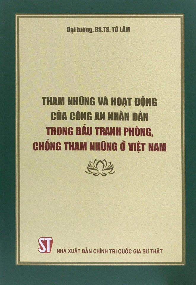 Tham nhũng và hoạt động của Công an nhân dân trong đấu tranh phòng, chống tham nhũng ở Việt Nam