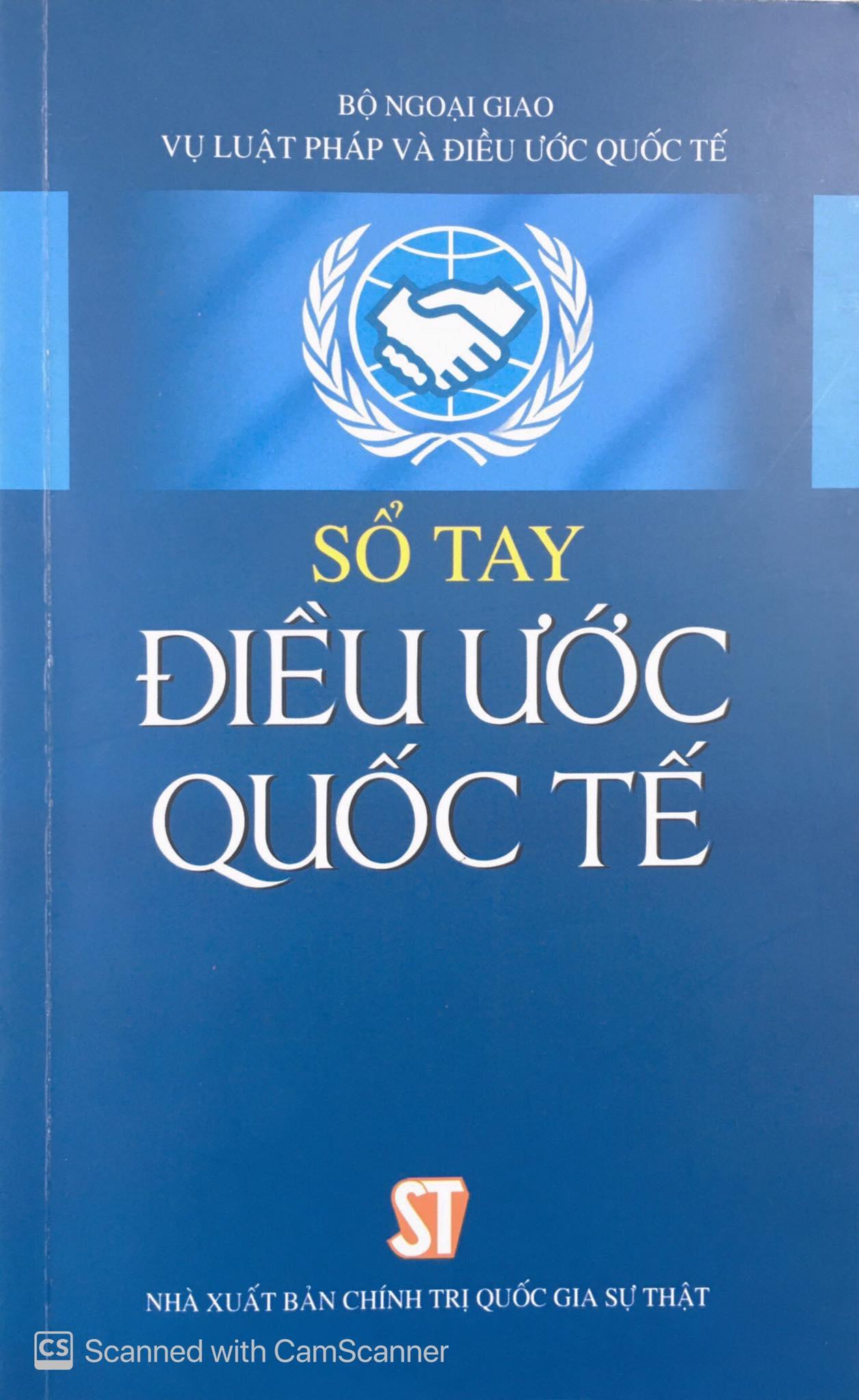 Sổ tay Điều ước quốc tế