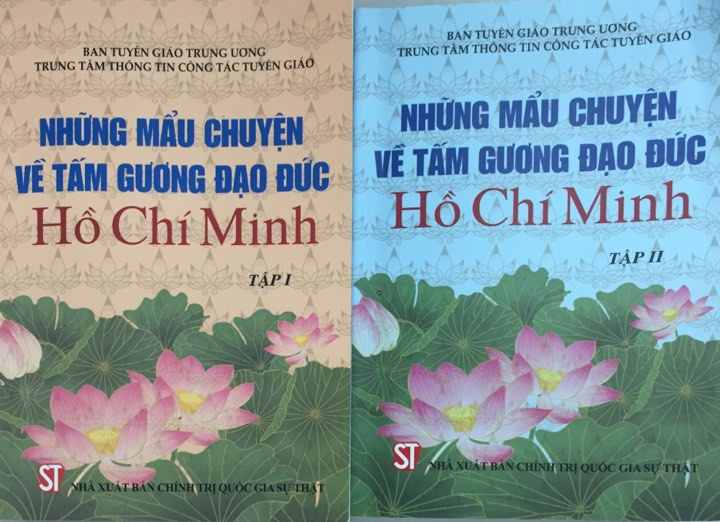 Những mẩu chuyện về tấm gương đạo đức Hồ Chí Minh (Bộ 2 tập)