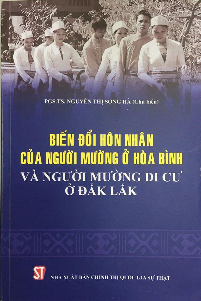 Biến đổi hôn nhân của người Mường ở Hòa Bình và người Mường di cư ở Đắk Lắk