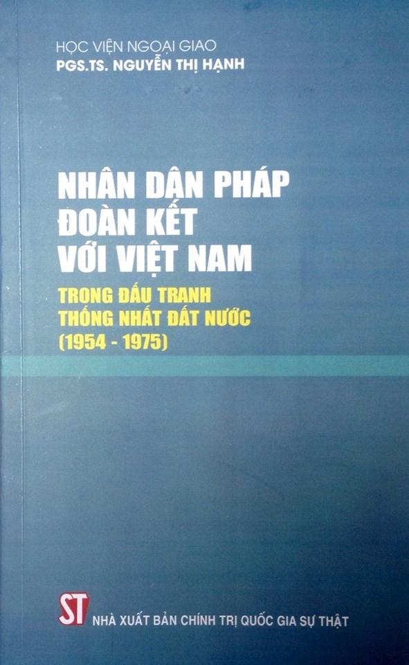 Nhân dân Pháp đoàn kết với Việt Nam trong đấu tranh thống nhất đất nước ( 1954-1975)