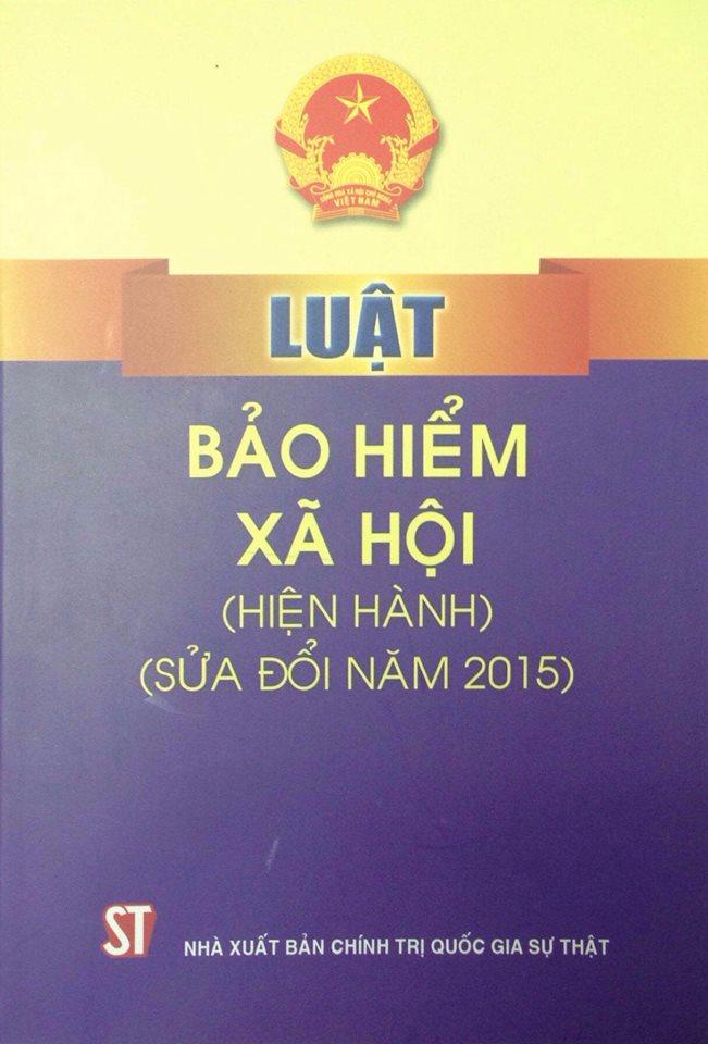 Luật bảo hiểm xã hội (hiện hành), (Sửa đổi năm 2015)