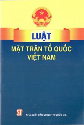 Luật Mặt trận Tổ quốc Việt Nam