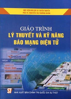 Giáo trình lý thuyết và kỹ năng báo mạng điện tử