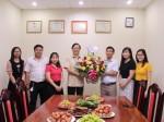 Lãnh đạo Nhà xuất bản Chính trị quốc gia Sự thật chúc mừng  Ngày Báo chí cách mạng Việt Nam