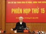 Tổng Bí thư, Chủ tịch nước Nguyễn Phú Trọng chủ trì Phiên họp thứ 15 Ban Chỉ đạo Trung ương về phòng, chống tham nhũng
