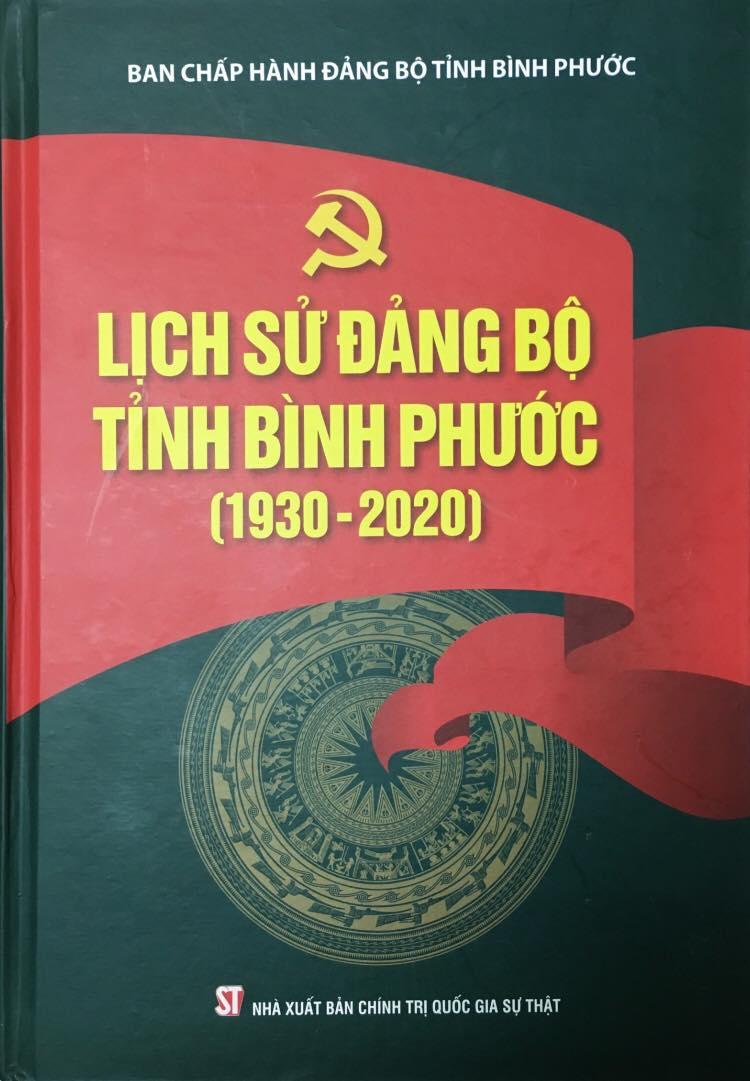 Lịch sử Đảng bộ tỉnh Bình Phước (1930 - 2020)