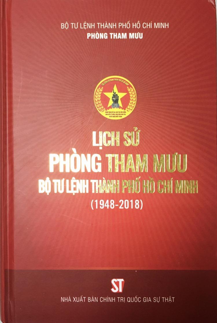 Lịch sử Phòng Tham mưu Bộ Tư lệnh Thành phố Hồ Chí Minh (1948 – 2018)