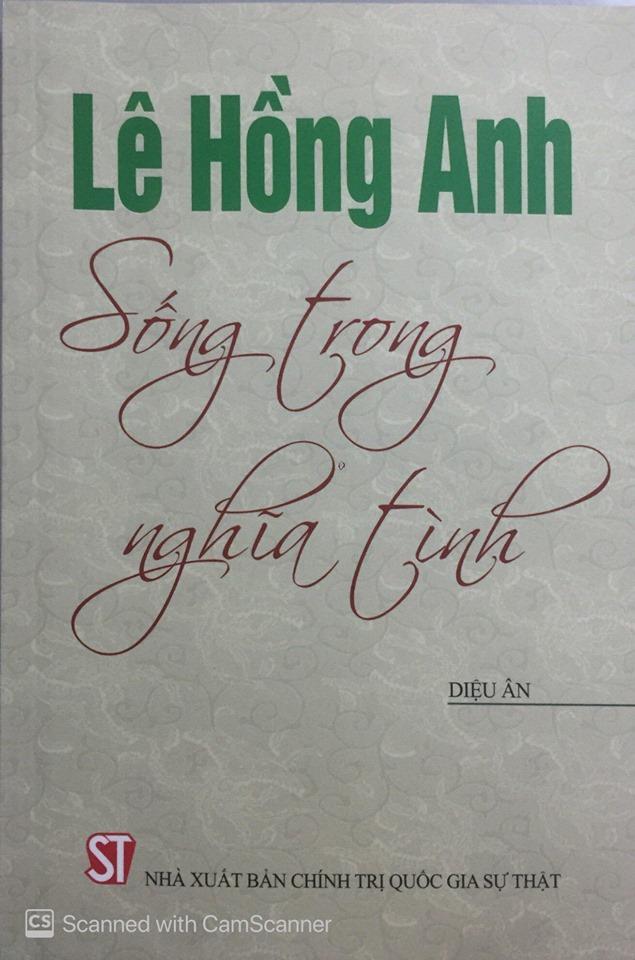 Lê Hồng Anh - Sống trong nghĩa tình