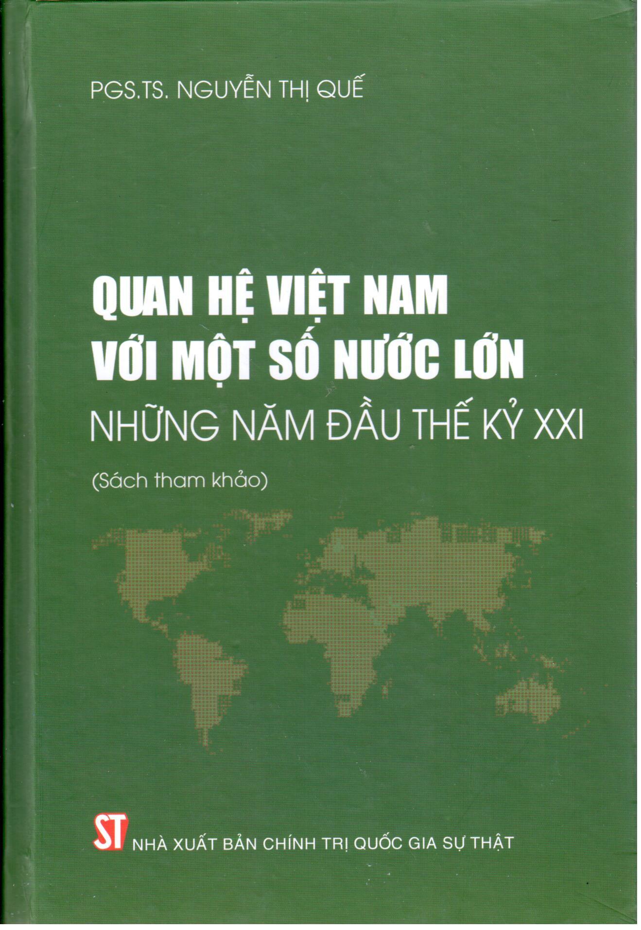 Quan hệ Việt Nam với một số nước lớn những năm đầu thế kỷ XXI (Sách tham khảo)
