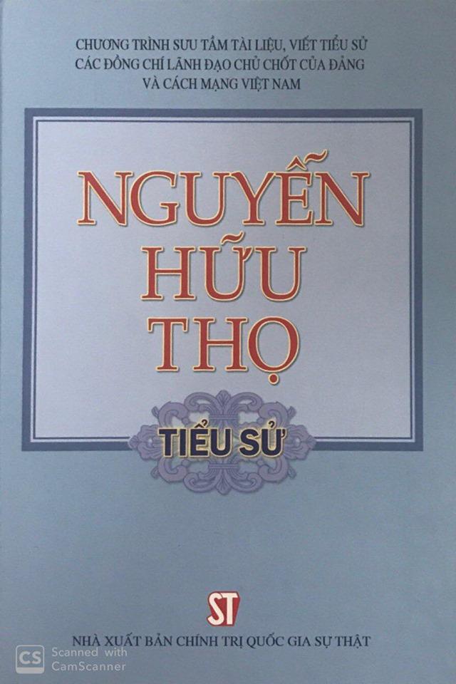 Nguyễn Hữu Thọ - Tiểu sử