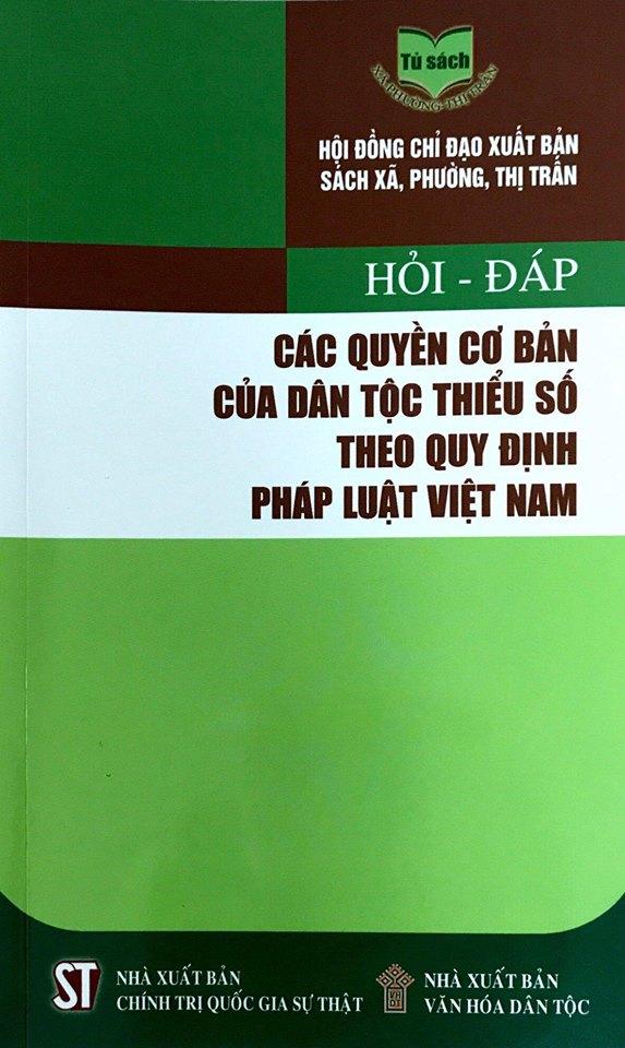 Hỏi - đáp: Các quyền cơ bản của dân tộc thiểu số theo quy định pháp luật Việt Nam