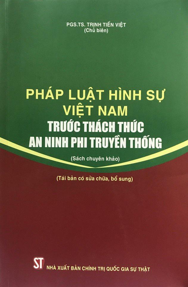 Pháp luật hình sự Việt Nam trước thách thức an ninh phi truyền thống