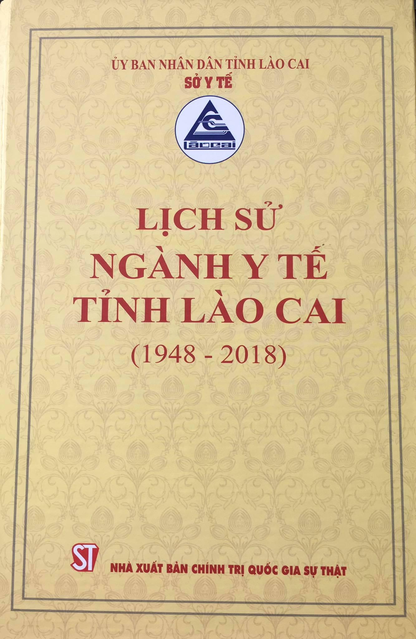 Lịch sử ngành Y tế tỉnh Lào Cai (1948 - 2018)