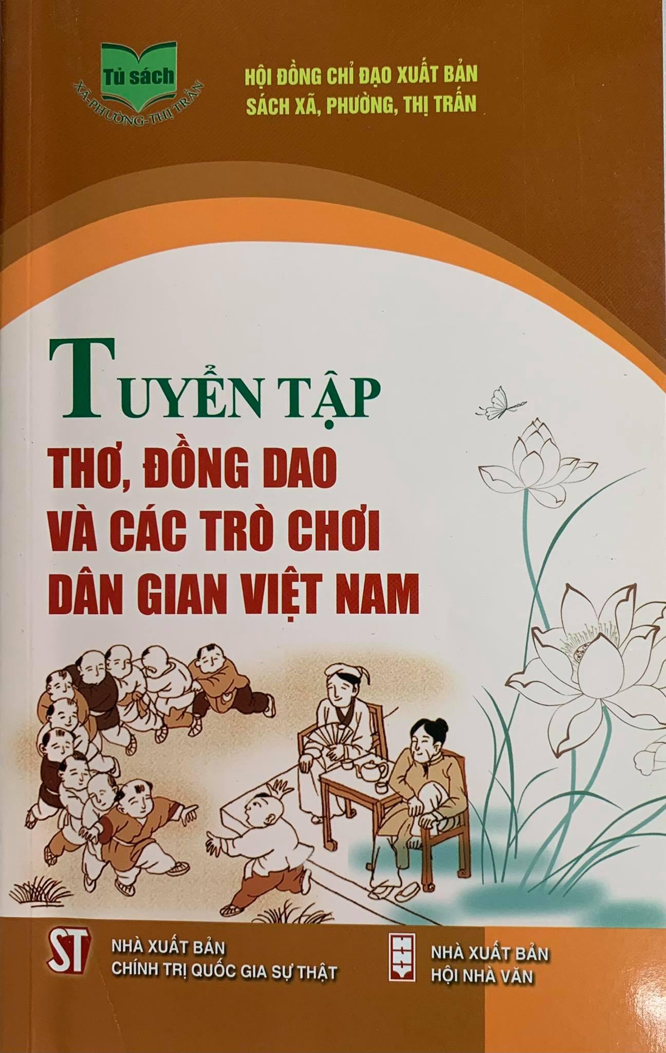 Tuyển tập thơ, đồng dao và các trò chơi dân gian Việt Nam