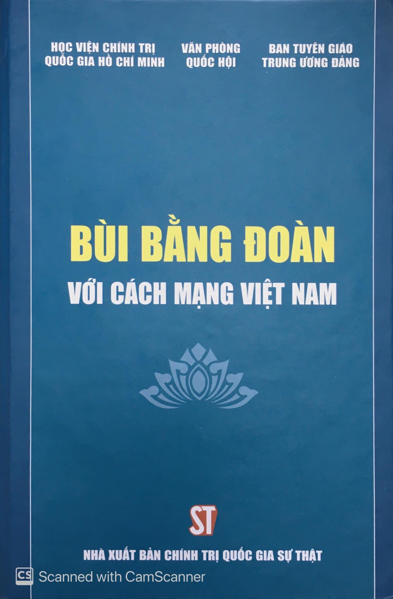 Bùi Bằng Đoàn với cách mạng Việt Nam