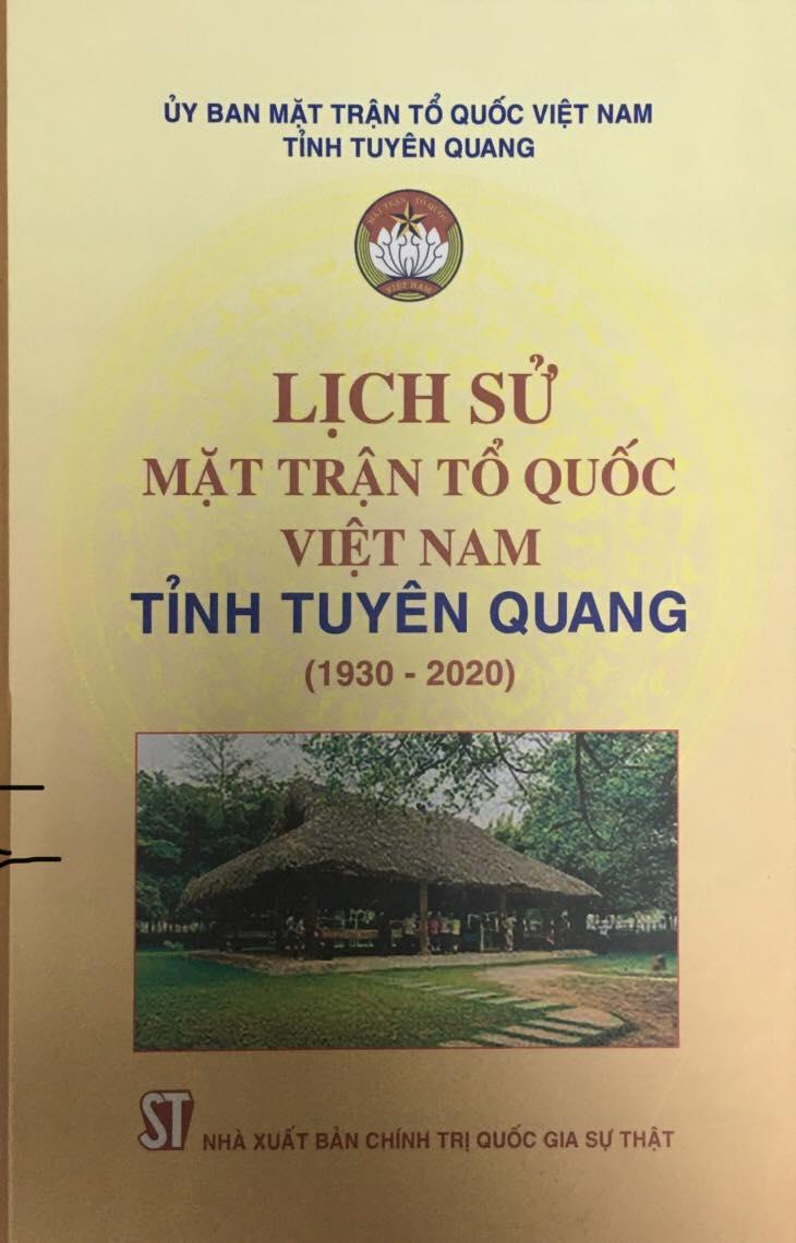 Lịch sử Mặt trận Tổ quốc Việt Nam tỉnh Tuyên Quang (1930 - 2020)