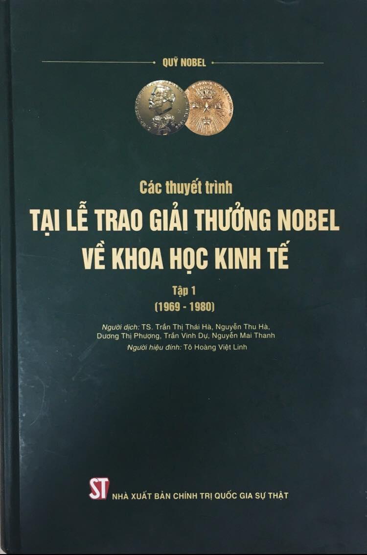 Các thuyết trình tại Lễ trao giải thưởng Nobel về khoa học kinh tế, tập 1 (1969 - 1980)