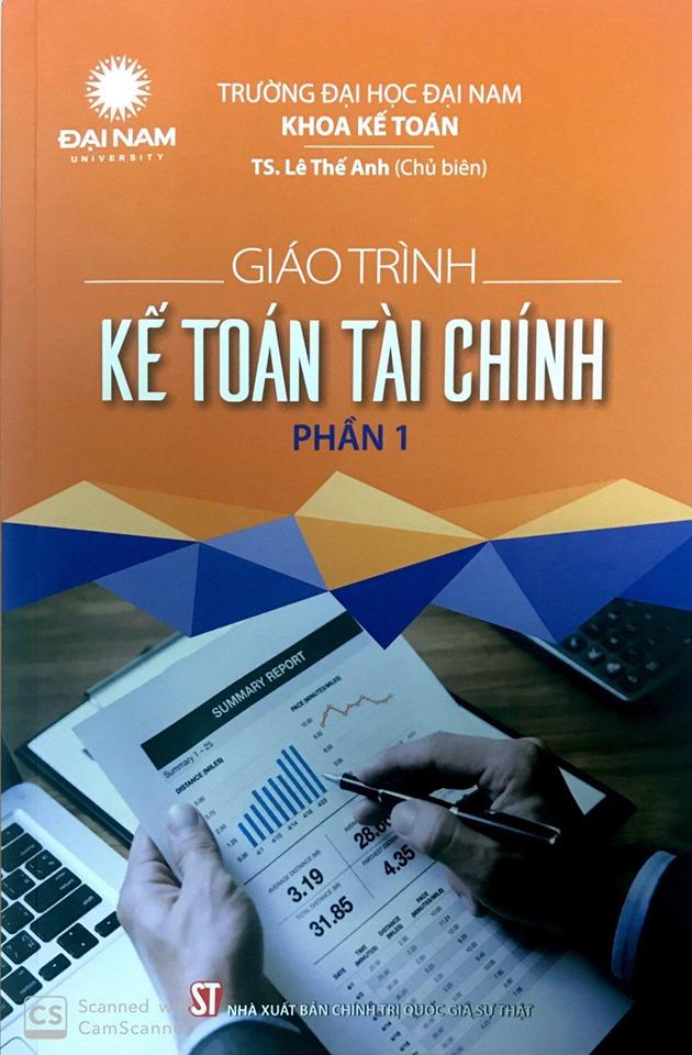 Giáo trình kế toán tài chính phần 1