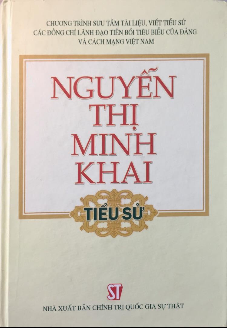 Nguyễn Thị Minh Khai (Tiểu sử)