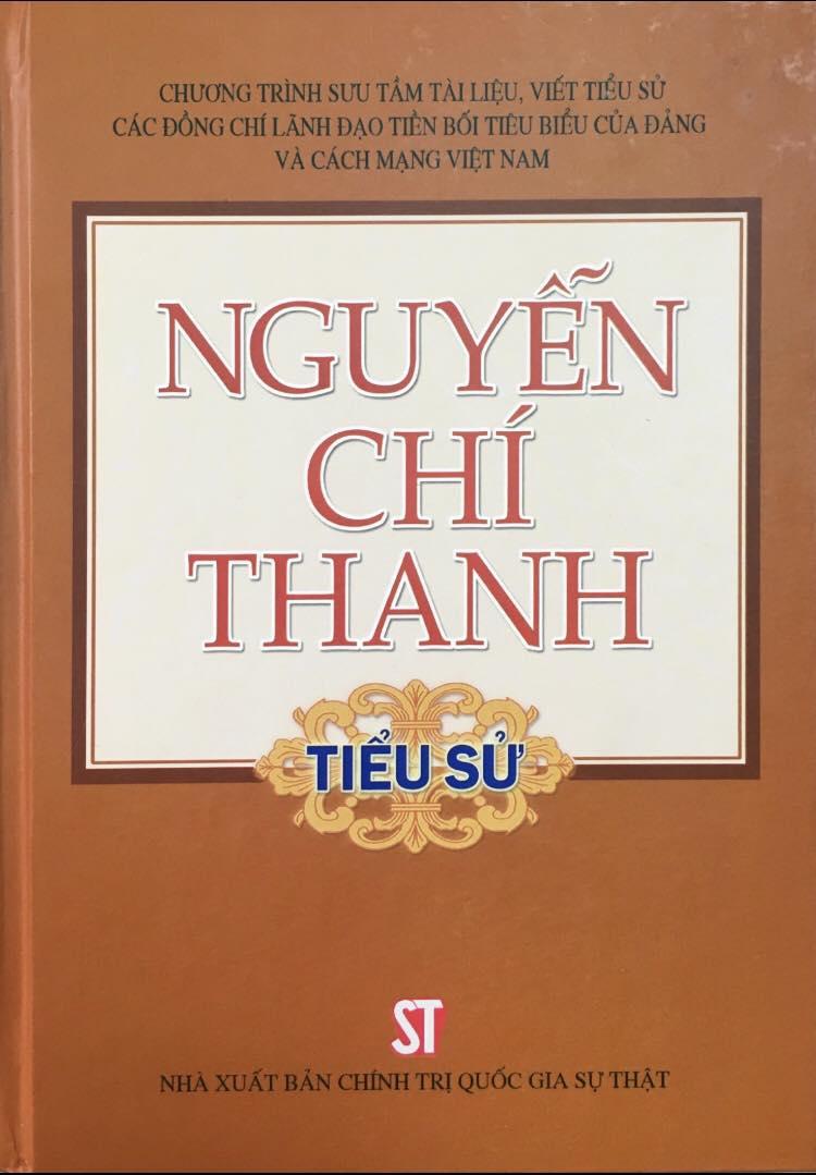 Nguyễn Chí Thanh - Tiểu sử