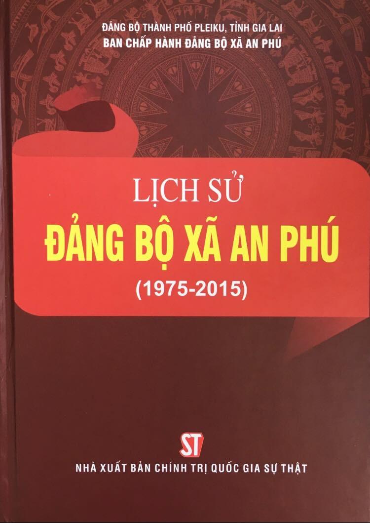 Lịch sử Đảng bộ xã An Phú (1975-2015)