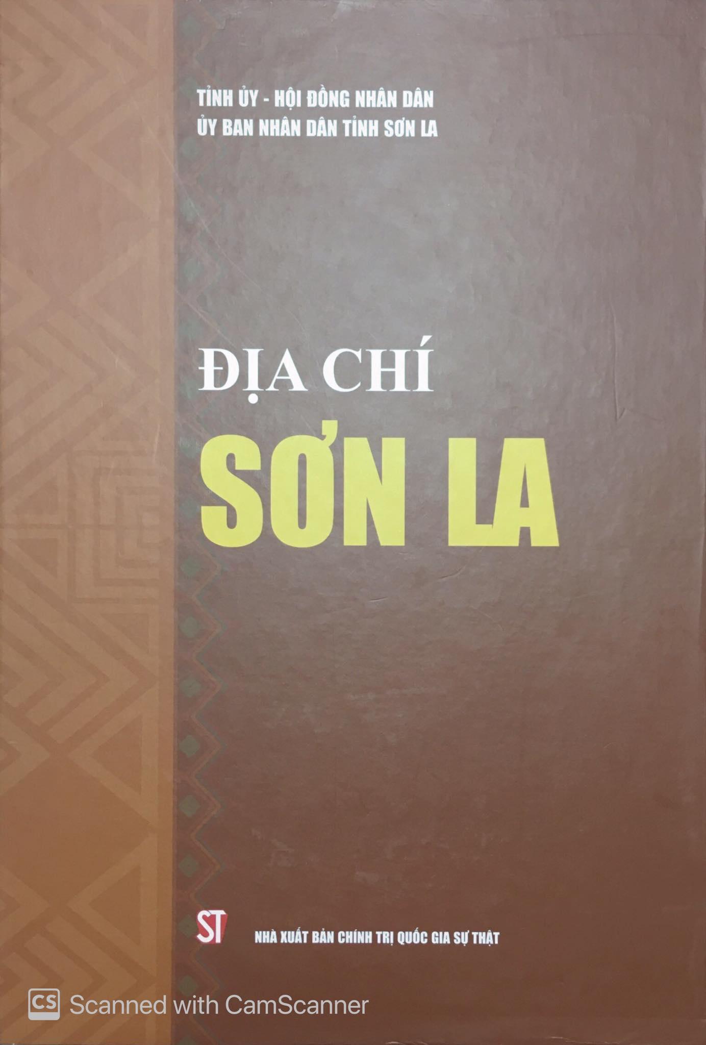 Địa chí Sơn La (quyển I, quyển II)