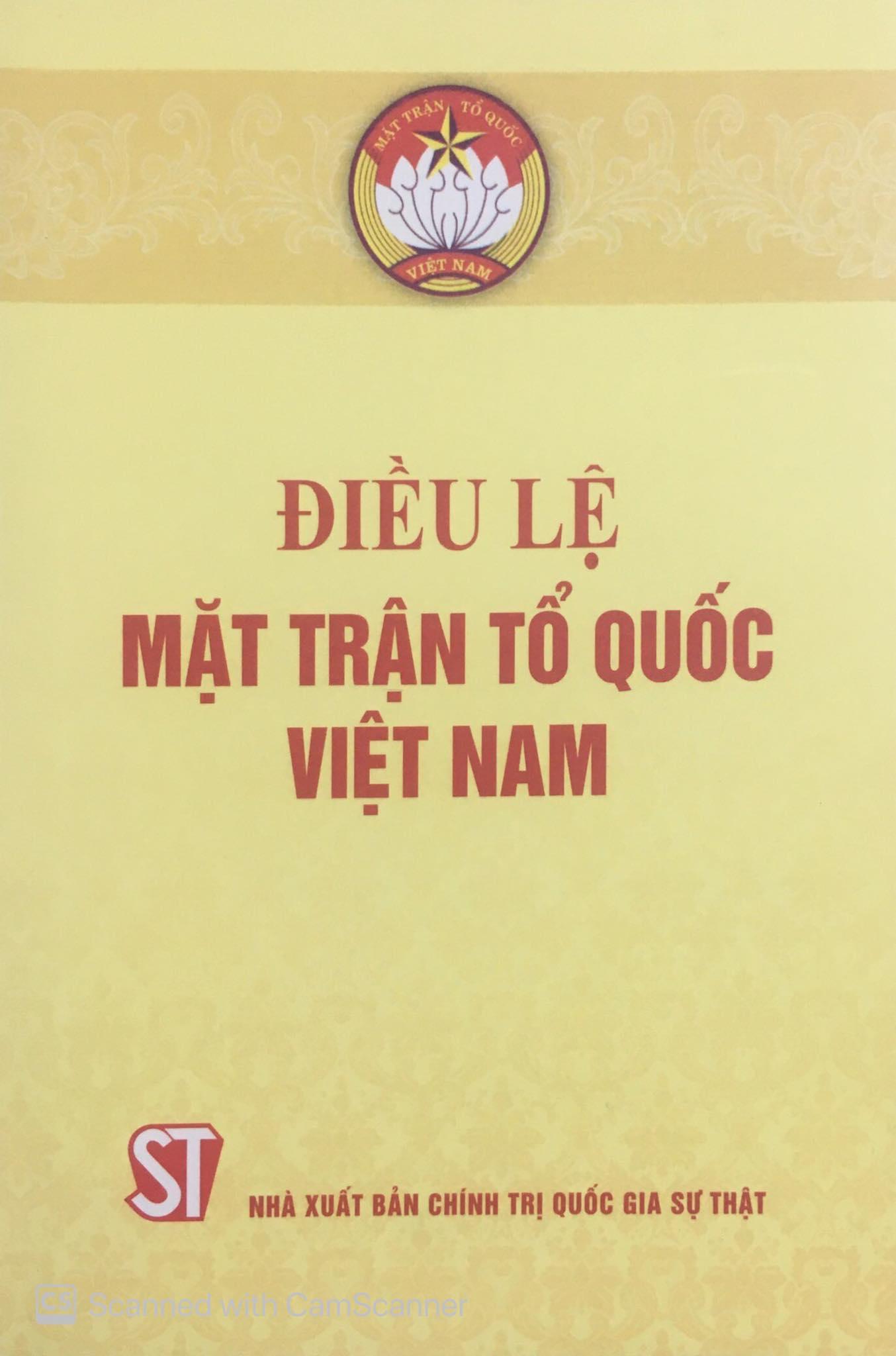 Điều lệ Mặt trận Tổ quốc Việt Nam