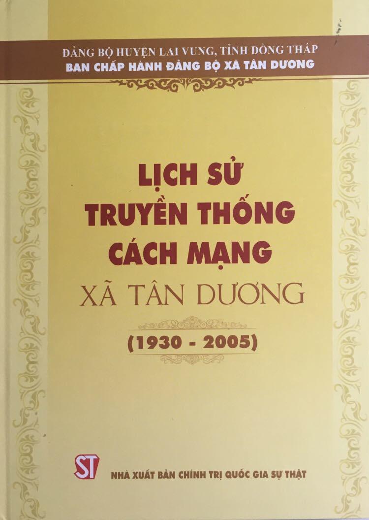 Lịch sử truyền thống cách mạng xã Tân Dương (1930 – 2005)