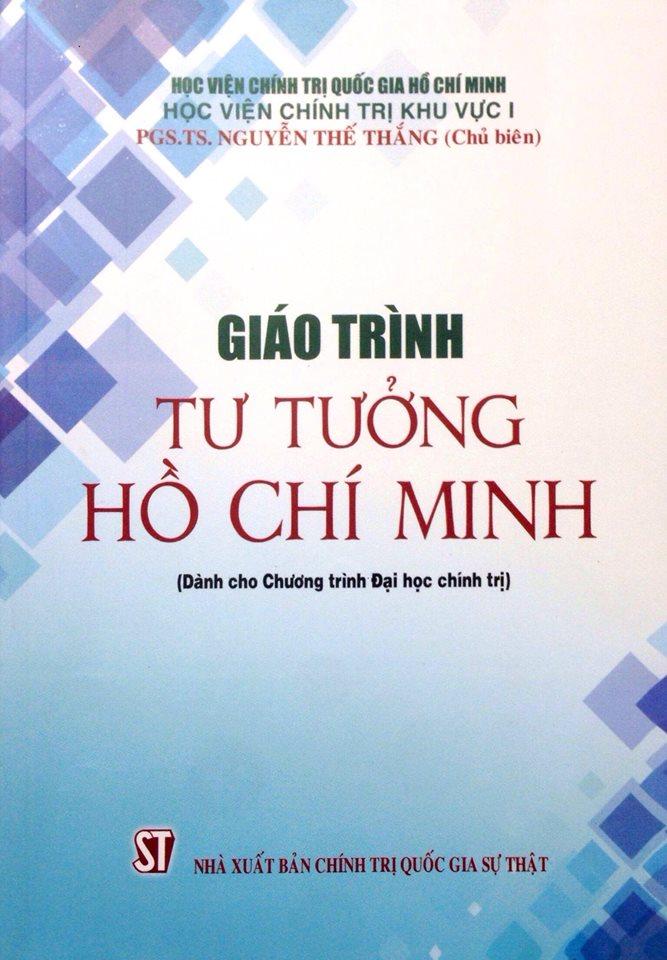 Giáo trình Tư tưởng Hồ Chí Minh (Dành cho Chương trình đại học chính trị)