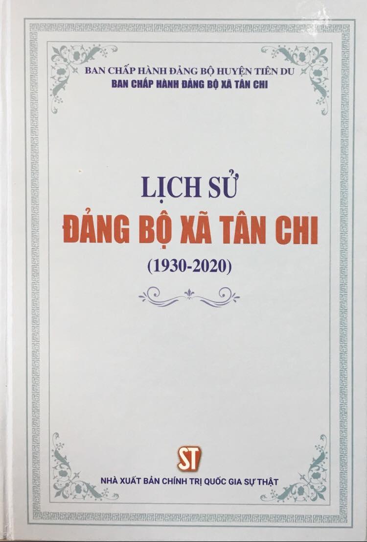 Lịch sử đảng bộ xã Tân Chi