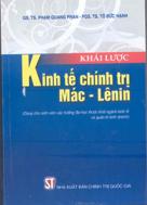 Khái lược kinh tế chính trị Mác - Lênin