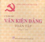CD-ROM Văn kiện Đảng Toàn tập