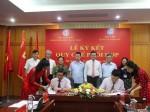 Lễ ký kết Quy chế phối hợp giữa Nhà xuất bản Chính trị quốc gia Sự thật và Học viện Quản lý giáo dục
