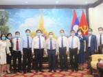 Đoàn đại biểu Nhà xuất bản Chính trị quốc gia Sự thật thăm và làm việc với Đại sứ quán nước Cộng hòa Dân chủ Nhân dân Lào tại Việt Nam