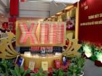 Không gian trưng bày sách chào mừng Đại hội Đảng XIII