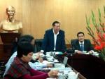 Đoàn đại biểu CHDCND Lào đến thăm và làm việc  với Nhà xuất bản Chính trị quốc gia - Sự thật